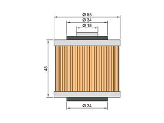 Filtre à huile TWIN AIR type 145 Yamaha SR400/SR500 - ea302ce5-f258-4183-9cc4-307576a0e2fa