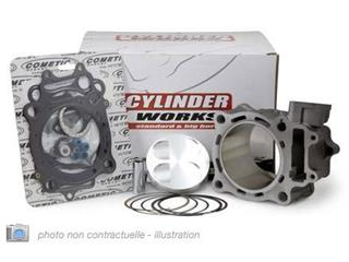 KIT CYLINDRE-PISTON CYLINDER WORKS POUR KAWASAKI KXF250 '10, 250CC  Ø77MM - 052022
