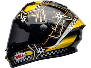 BELL Star DLX Mips Helmet Isle of Man 2020 Gloss Black/Yellow Size S - ea9c7bdf-2d7e-40d4-9255-093ca6039630