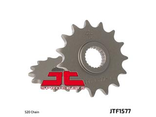 JT SPROCKETS Front Sprocket 15 Teeth Steel Standard 520 Pitch Type 157
