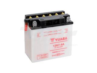 Batería Yuasa 12N7-4A Dry charged (sin electrolito)