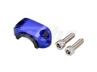 Abrazadera superior soporte maneta con goma ART azul