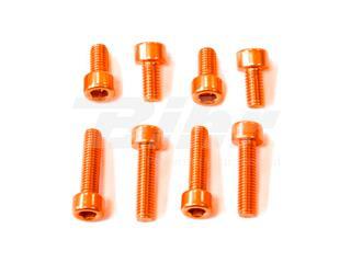 Kit parafusaria tampa reservatório Pro-Bolt alumínio TYA465O laranja