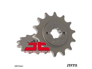 Pignon JT SPROCKETS 12 dents acier standard pas 520 type 711 Cagiva Mito 125 EV - 46071112