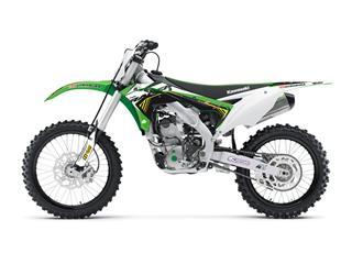 Kit déco KUTVEK Racer vert Kawasaki KX250F - 78201302