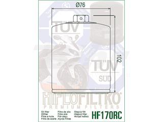 Filtro de aceite Hiflofiltro HF170BRC - ec405b01-3509-4c4d-b5bc-9246afe73bcc
