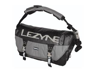 MESSENGER CADDY LEZYNE 24L GRÅ/SVART