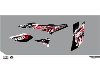 KUTVEK Rotor Graphic Kit Black TGB Target