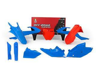 Kit plastique RACETECH bleu/orange édition limitée KTM - 7805220