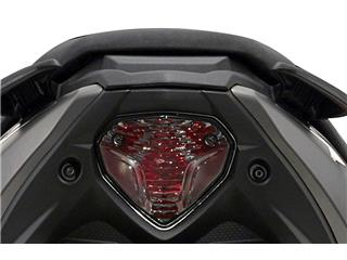 Rückleuchte Bihr abgedunkelt Yamaha Aerox 50 - MBK Nitro 50