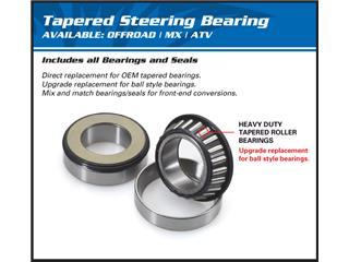 ALL BALLS Steering Shaft Bearing Kit Kawasaki ZX250R Ninja/Ninja 300 - ed4c5529-6197-4fa0-9257-0493db6b41b7