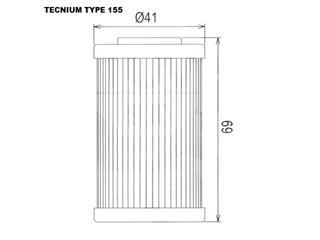 TECNIUM Type 155 Oil Filter - ed71c267-9cff-49e6-b655-fd4766a1d079