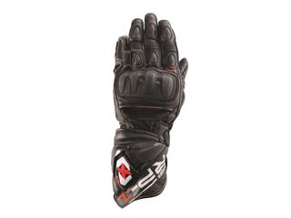 RP1 -  LEATHER  RACE GLOVE TECH BLACK - 25GM2212