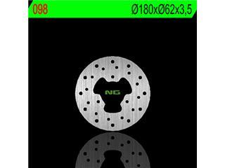 Disque de frein NG 098 rond fixe - 350098