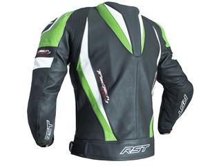 RST TracTech Evo 3 Jacket CE Leather Green Size S - edbdcd5c-ae1e-4306-848e-9f62c287500c
