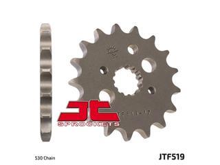 Pignon JT SPROCKETS 16 dents acier standard pas 530 type 519 - 46051916