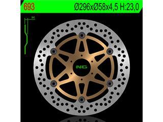Disque de frein NG 693 rond semi-flottant - 350693