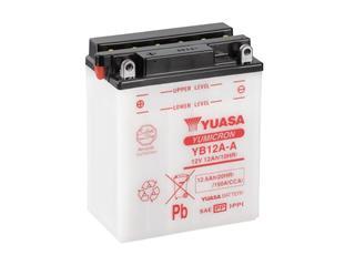 Batterie YUASA YB12A-A conventionnelle - 32YB12AA