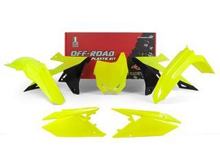 Kit plastique RACETECH jaune fluo/noir Suzuki RM-Z450 - 784982