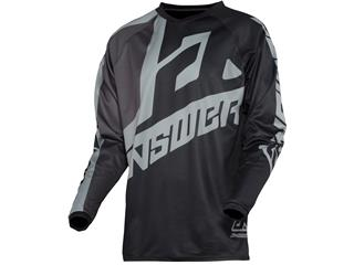 Maillot ANSWER Syncron Voyd Black/Charcoal/Steel taille XXL