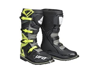 Bottes UFO Obsidian gris/jaune fluo taille 47