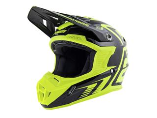 ANSWER AR1 Edge Helmet Black/Hyper Acid Size M