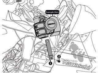 DENALI Soundbomb Horn Mount Kawasaki GTR1400 - eedaa224-1298-4599-8fc5-45070b895212
