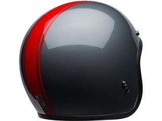 BELL Custom 500 DLX Helmet Rally Gloss Gray/Red Size M - eee31262-c255-4f50-9705-6e4dda28c980
