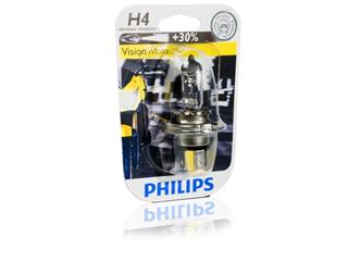 10 AMPOULES PHILIPS TYPE H4 PR 12V 60/55W - 320052
