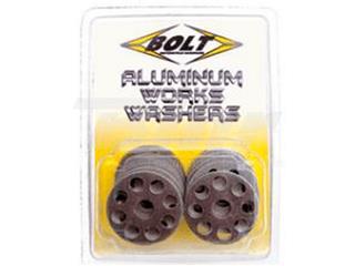 Pack de 10 Arandelas de aluminio Bolt ØINT 6MM / ØEXT 25MM