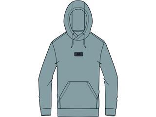 Hoodie OAKLEY Patch Fleece Fog Grey taille L - 825000241070