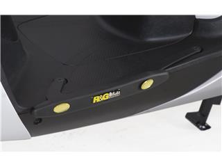 R&G RACING Footboard Slider Black Honda SH125i