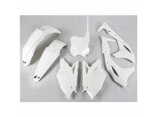 Kit plastique UFO blanc Kawasaki KX250F - 78203310