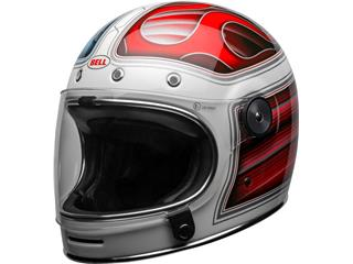 Casque BELL Bullitt DLX SE Baracuda Gloss White/Red/Blue taille M - 800000700369