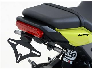 Support de plaque R&G RACING noir compatible micro clignotants Honda MSX125