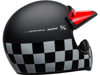 Casco Bell Moto-3 FASTHOUSE CHECKERS Negro/Blanco/Rojo, Talla XS - ef66b9ee-1749-40b3-bacb-014c9c5a1a71