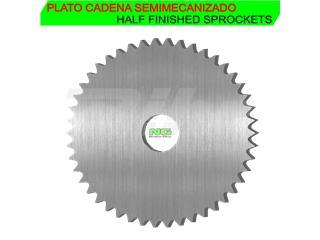 Corona semielaborada Paso 520 con 44 dientes