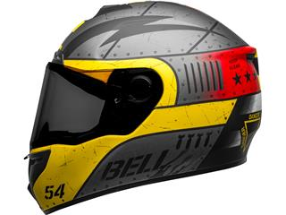 Casque BELL SRT Devil May Care Matte Gray/Yellow/Red taille L - ef8396cc-1d83-472b-9bb7-f3c846ea4c92