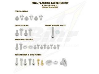 Kit tornillería de plástica Bolt KTM 08-10 EXC