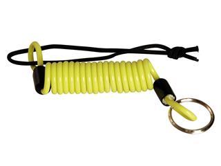 Câble de rappel Vector jaune fluo pour bloque disque/antivol  - VE4002