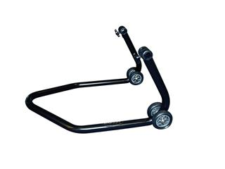 "BIKE LIFT Universal Rear Stand with ""V"" Black Adapters"