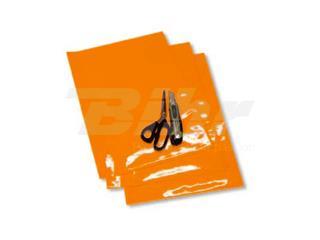AUTOCOLANTE fundo para dorsal Blackbird laranja - Pack de 3 uds 5051/90