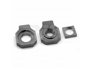 Tensores de eje trasero ART KTM/Husqvarna gris