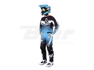 T-shirt ANSWER Trinity Preta/Azul/Branca Tamanho S - f12e534c-e6f9-42e6-b54d-9ec4147873f5