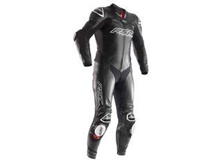 RST Race Dept V4.1 CE Race Suit Leather Black Size 3XL Men - 816000080173