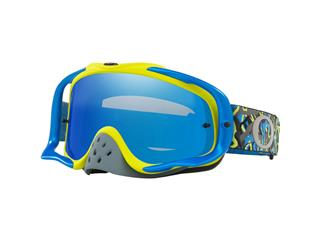 Masque OAKLEY Crowbar MX Camo Vine Night Blue/Green écran Black Ice Iridium + transparent