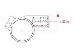 Bracelets LIGHTECH Ø51 hauteur 0mm/déport +20mm/10° noir  - f17d97ae-4ec1-45d9-a10e-9f8a200f22c5