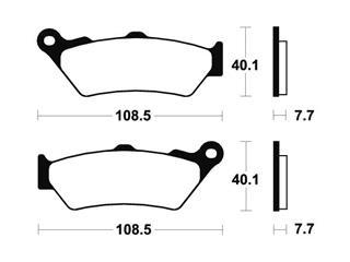 Plaquettes de frein TECNIUM MO174 métal fritté - f1b0ec1a-d076-49ca-a7eb-17b168395925
