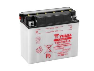 Batterie YUASA Y50-N18A-A conventionnelle - 32Y50N18AA