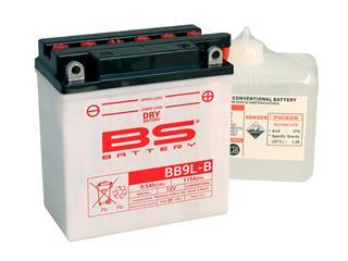 Batterie BS BATTERY BB9L-B conventionnelle livrée avec pack acide - 321035